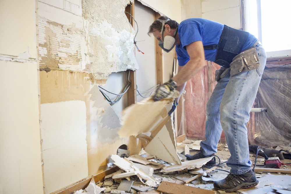 Home Renovations - Tear Out